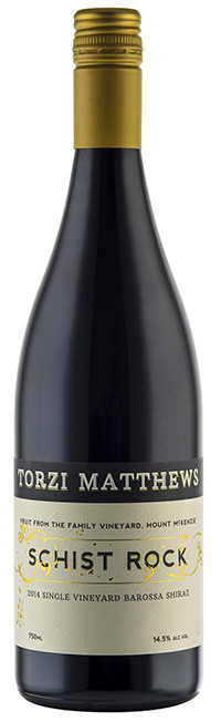 Torzi Matthews Schist Rock Shiraz - Eden Valley