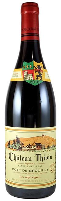 Thivin Les Sept Vignes Cote de Brouilly - Beaujolais