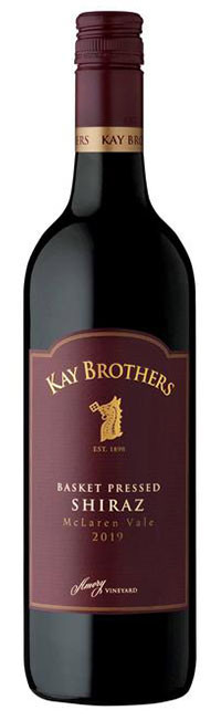 Kay Brothers Basket Pressed Shiraz - McLaren Vale