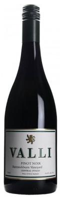 Valli Bannockburn Vineyard Pinot Noir - Central Otago