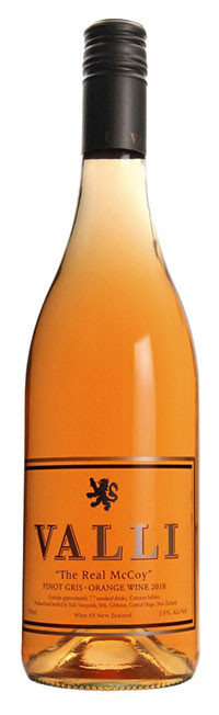 Valli Vineyards The Real McCoy Orange Wine - Central Otago